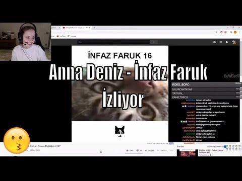 Anna Deniz  - İnfaz Faruk -  Furkan Emirce Dublajları İzliyor