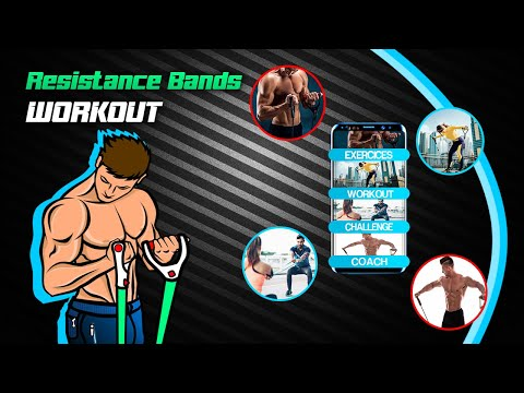 Resistance Band Workout Elastic Band Exercises Apps On Google Play
