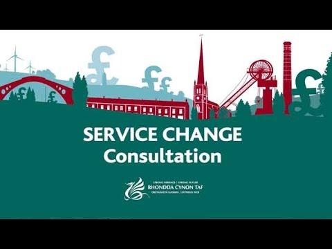 RCT Council - Service Change Consultation