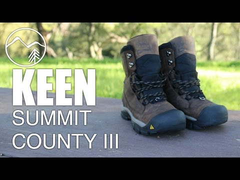 c8f69a358dc Keen Summit County 3 Winter Hiking Boots - Mountain Venture - YouTube