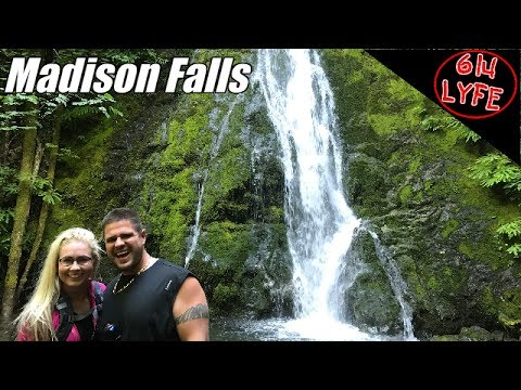 Easy hike to Madison Falls Olympic National Park