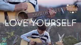 Love Yourself Justin Bieber Fingerstyle Guitar By Harry Cho
