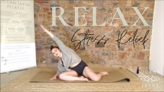 Relax - Stress Relieving Pilates Class