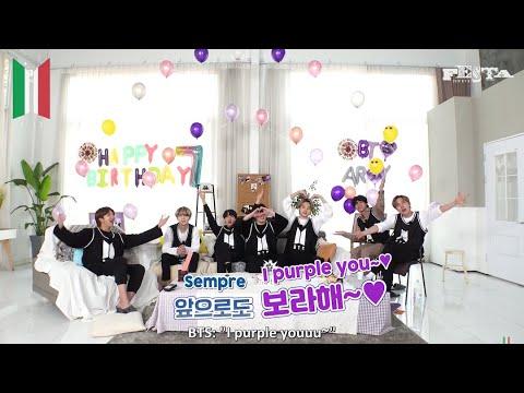 [SUB ITA] [2020 FESTA] BTS (방탄소년단) '방탄생파' #2020BTSFESTA