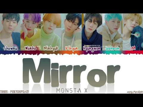 MONSTA X (몬스타엑스) - 'MIRROR' Lyrics [Color Coded_Han_Rom_Eng]