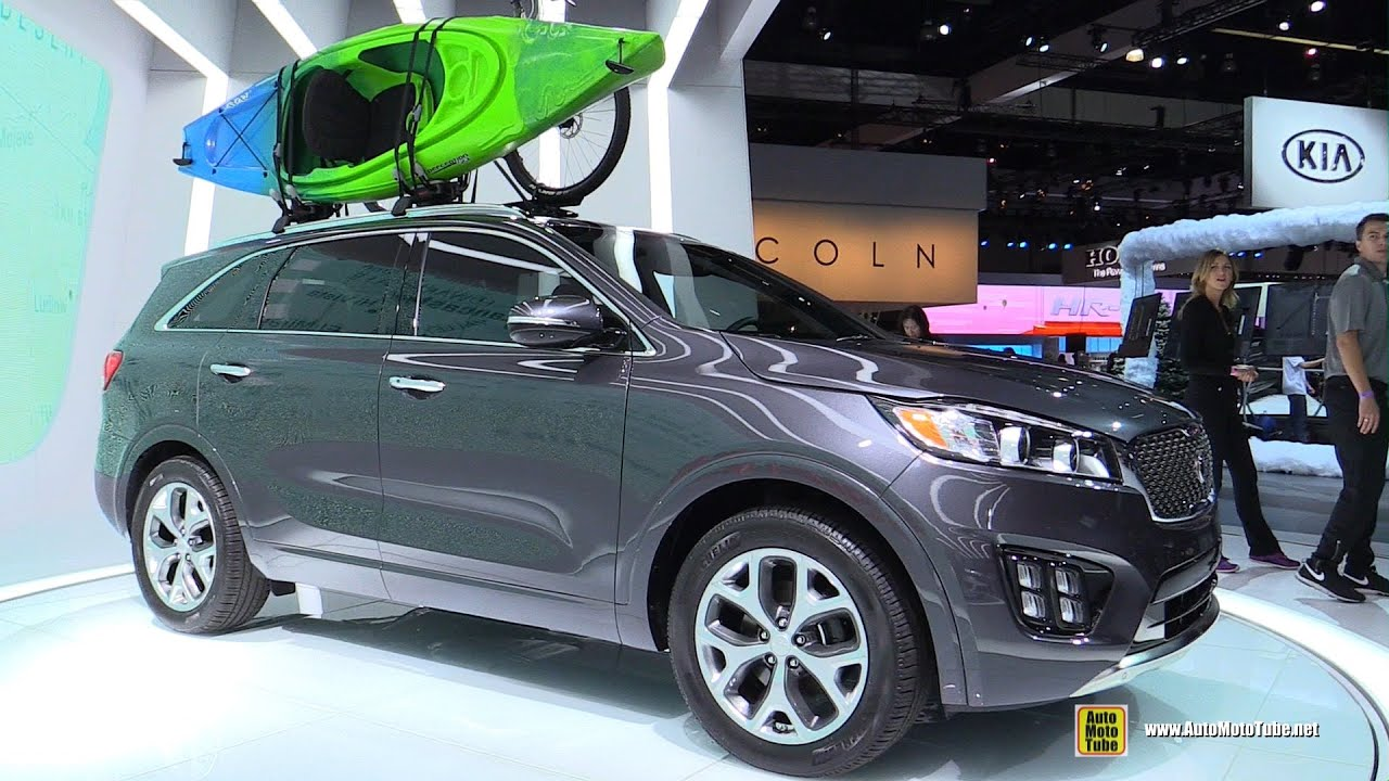 2015 kia sorento sxl t gdi exterior and interior walkaround 2014 la auto show youtube. Black Bedroom Furniture Sets. Home Design Ideas