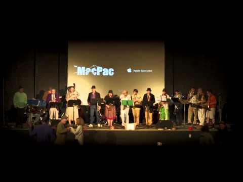 The Bobwhite Big Band perform