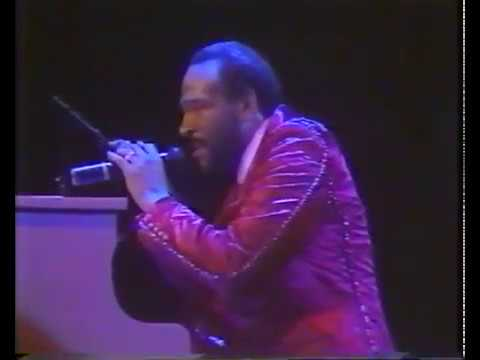 Marvin Gaye - LIVE God Is My Friend 1983