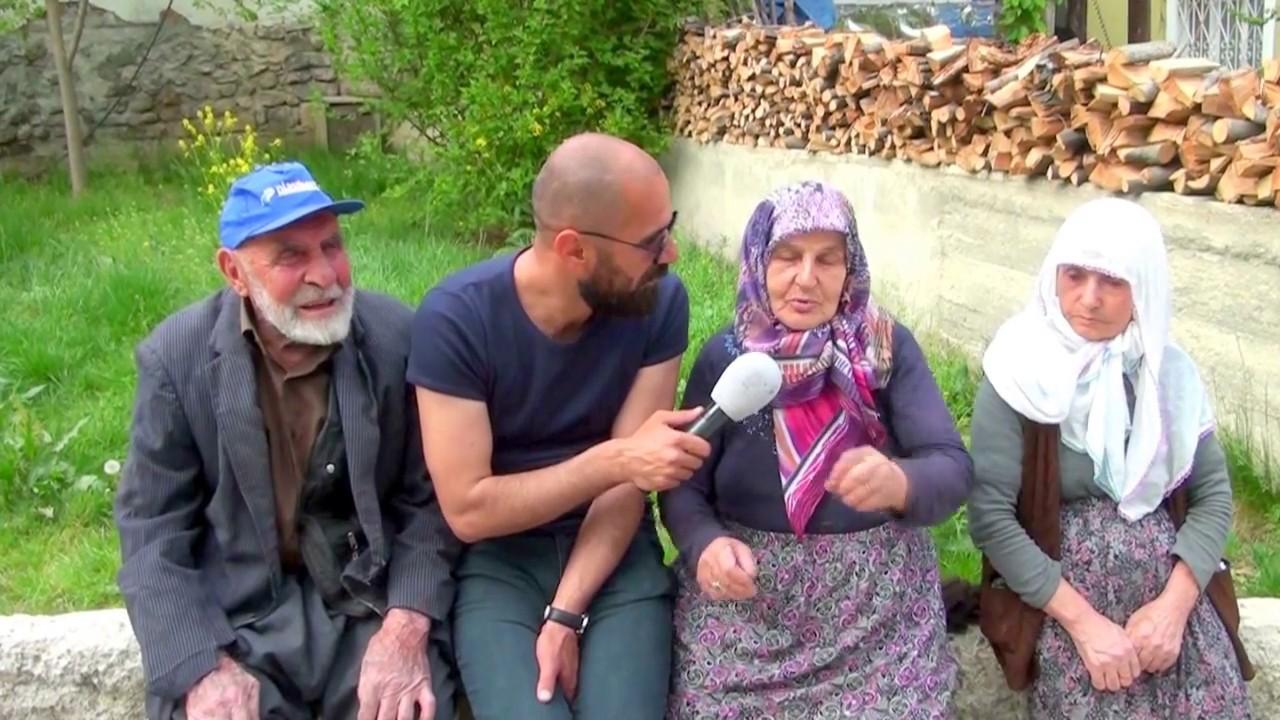 Erzurum'un Tortum İlçesi Şenyurt Mahallesinde Tatlı Bir Çift