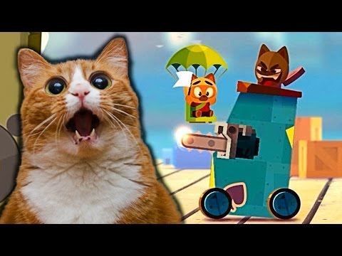 The war of the LIONS #2 video for kids in CATS funny colorful cartoon children's game
