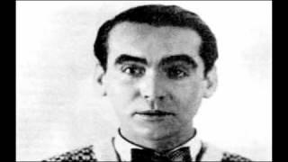 "Federico García Lorca Canción de jinete - ""Horsemans song"" Poem animation Spanish"