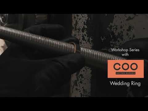 How we make bespoke wedding rings