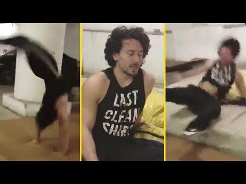 Tiger Shroff HURTS HIMSELF During Stunt Because Of Kriti Sanon