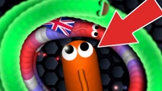 SLITHER.IO BIGGEST TOP PLAYER SNAKE TRAP EVER.....!!! | Slither.io Top Player Gameplay