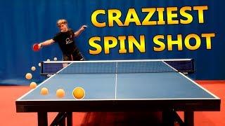 Craziest Ping Pong Shot BATTLE