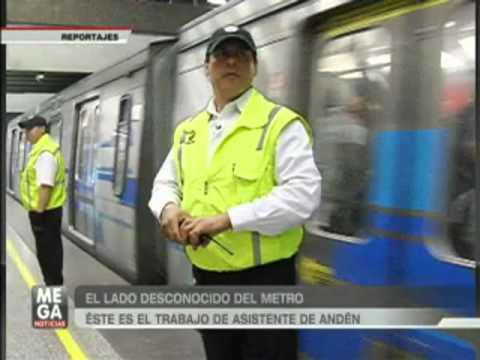 Los secretos del Metro de Santiago - MEGANOTICIAS 2012