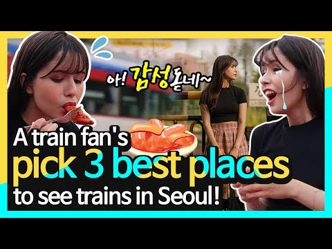 A Train Fan's Pick 3 Best Places To See Trains In Seoul!