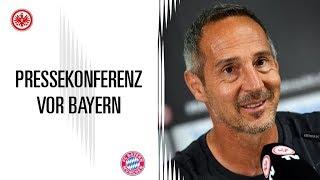 Pressekonferenz vor SGE - Bayern