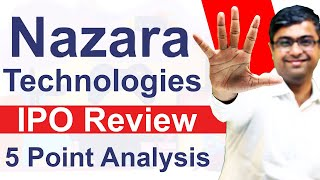 Nazara Technologies  PO Review Should You  Nvest Or Not