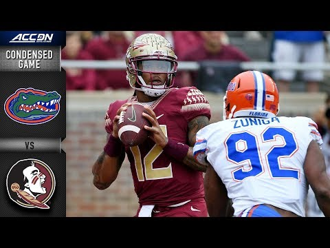 Florida vs. Florida State Condensed Game | 2018 ACC Football
