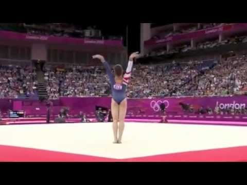 2012 olympics women 39 s gymnastics floor final raise your for Floor gymnastics