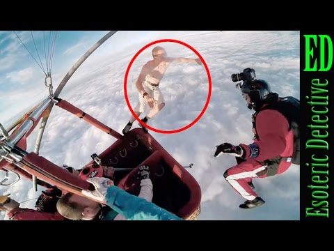 CRAZY Skydiver JUMPS WITHOUT PARACHUTE from balloon in Finland 2015 - Skydiving Without A Parachute