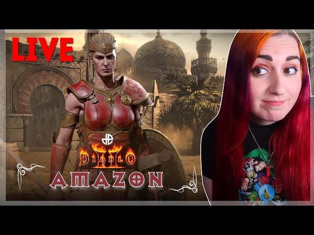 Livin' My Tall Amazon Woman Life Dreams // Diablo 2 Resurrected LIVE // Part 1