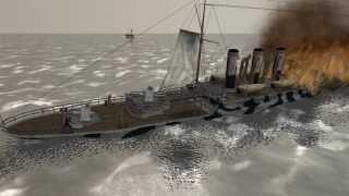 The Cruel Sea (1914: Shells of Fury Animation) 第一次世界大戦ドイツ帝国潜水艦戦記 (アニメ )