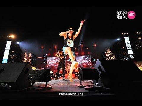BUDDHA BLESS ใจเย็น || Pattaya Music Festival 2014 ...