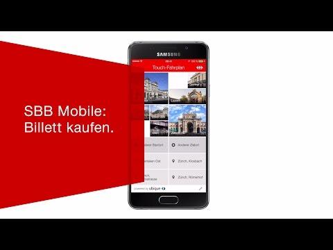 SBB Mobile: Billett Kaufen.