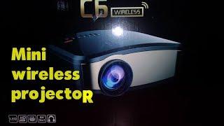 Mini  Wireless projector c6