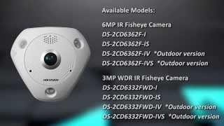 Панорамные камеры Hikvision 6 MP 360°(, 2015-10-06T08:42:41.000Z)
