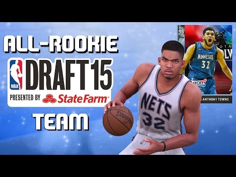 NBA All-Rookie Team - Diamond Karl-Anthony Towns - NBA 2K16 MyTeam - Full Game Friday