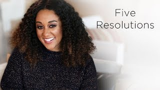 Tia Mowry's 2018 New Years Resolutions