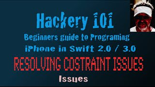 Constraint - Part 2 - Resolving Issues