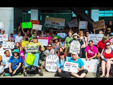 Nationwide Congressional Sit-Ins Protest Trumpcare