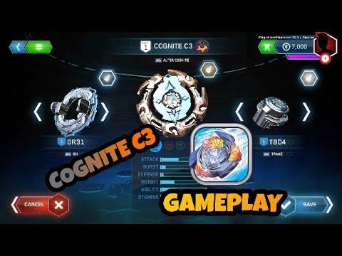 Cognite C3 Gameplay, Beyblade Burst Evolution Game.