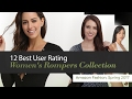 12 Best User Rating Women's Rompers Collection Amazon Fashion, Spring 2017
