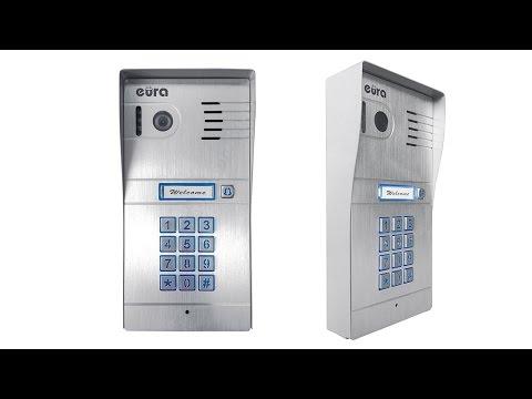 Wideo domofon z szyfratorem IP - Eura IVP-01C7 Eura-Tech - konfiguracja
