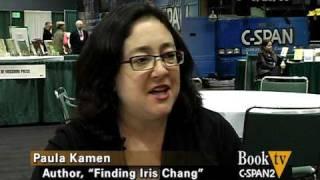 Book TV: Paula Kamen - Finding Iris Chang