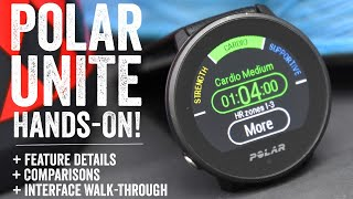 Polar Unite Fitness Watch: Hands-on Features/test/explainer