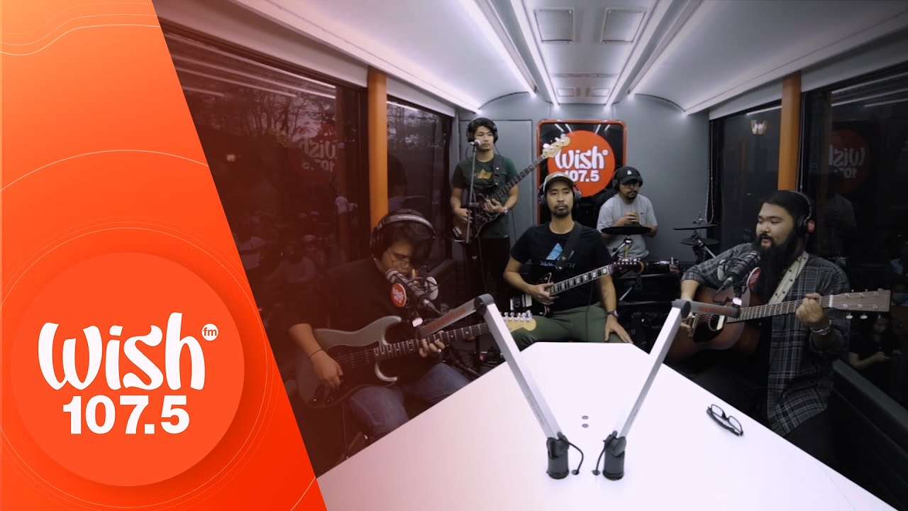 """I Belong To The Zoo performs """"Sana"""" LIVE on Wish 107.5 Bus"""