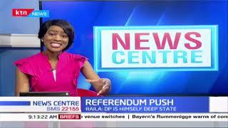 Referendum push: Raila says it must be held before poll