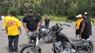 Klock Werks checks out the FXR Show in Sturgis 2014