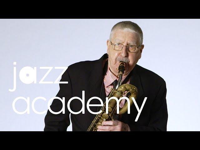 Joe Temperley's Baritone Sax Warm-Up, Part 3