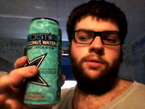 Deadcarpet Energy Drink Reviews - Rockstar Coconut Water