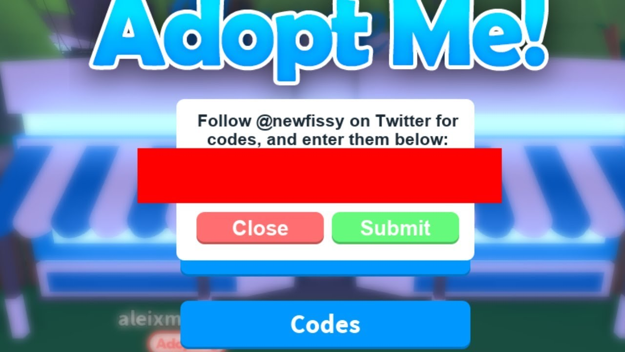 Roblox Adopt Me NEW Code! ( One Code ) * READ DESC * - YouTube