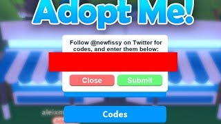 Roblox Adopt Me NEW Code! ( One Code ) * READ DESC *