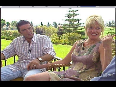 Antonio Banderas, entrevista en exclusiva con su novia Melanie Griffith 1995