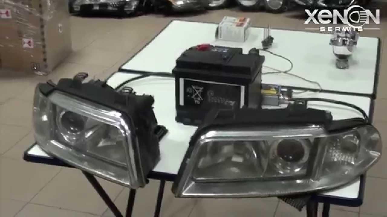 Nowoczesna architektura Regeneracja reflektorów Xenon - Audi A4 - YouTube FD72